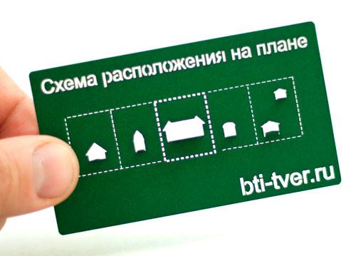 Схема расположения участка на плане, визитка БТИ